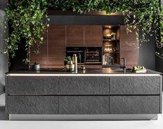 Aranżacje wnętrz - Kuchnia: Kuchnia Black Star - Średnia otwarta kuchnia jednorzędowa z wyspą, styl industrialny - SAS Wnętrza i Kuchnie. Przeglądaj, dodawaj i zapisuj najlepsze zdjęcia, pomysły i inspiracje designerskie. W bazie mamy już prawie milion fotografii!