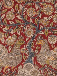 Ethnic weaves in earthy hues Kalamkari Fabric, Kalamkari Designs, Indian Crafts, Earthy, Print Patterns, Weaving, Prints, Dresses, Vestidos