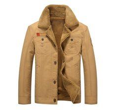 Stylish Winter Jean Jacket With Fur Lining