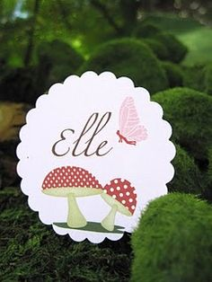 enchanted forest/fairy party ideas here