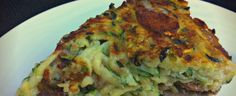 'noodle' zucchini and mushroom kugel