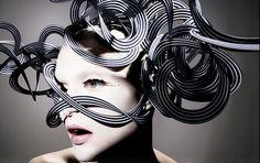 ⍙ Pour la Tête ⍙ hats, couture headpieces and head art - Philip Treacy | Ananas à Miami
