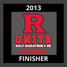 Unite Half Marathon - Finisher!
