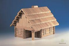 Drevená stavebnica - hrnčiarska dielňa