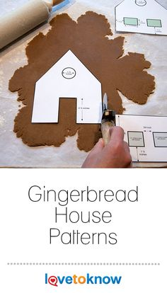 Gingerbread House Patterns Wow friends and family this holiday season with beautiful, edible architectural gingerbread wonders. They're classic Christmas decor and fun to create alone or with family. Free patterns give you a basic Gingerbread House Icing, Halloween Gingerbread House, Gingerbread House Patterns, Cool Gingerbread Houses, Gingerbread House Parties, Gingerbread Decorations, Homemade Gingerbread House, Gingerbread House Template Printable, Ginger Bread House Diy