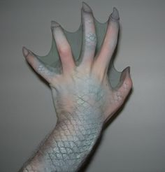 etsy.com somewhere is Mermaid hand make up I've got to find! Pinner if you recall where, please let me know. Pamela/Wizardress of Aahs