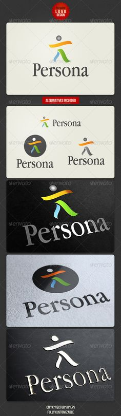 Persona Clean Logo Design - http://graphicriver.net/item/persona-clean-logo-design/2680338?ref=cruzine