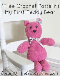 My First Teddy Bear Pattern