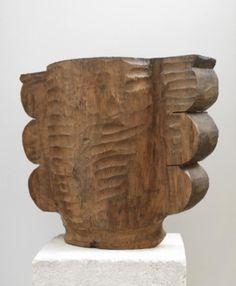 """maudhannart: """"Constantin Brancusi, Vase """""""