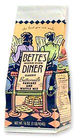 Bette's Oceanview Diner | Classic Buttermilk Pancake and Waffle Mix | Without a doubt, America's flapjack of choice is the good old buttermilk pancake, and we've come up with the perfect version. Light and fluffy. Golden and rich. And not too sweet, with just the right tangy touch of buttermilk. There's simply no other mix on the market that delivers this kind of dream-diner flavor and texture. You can use it to make both pancakes and waffles. Our mix is made with fresh, locally milled…