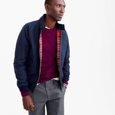Baracuta® G9 Harrington jacket : J.Crew in good company | J.Crew