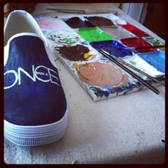 Custom Hand Painted Shoes. by AsPureAsGold on Etsy, $80.00