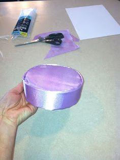 "Fancy Meeting Ewe: How to make a dress up ""Pill Box"" hat, tutorial!"