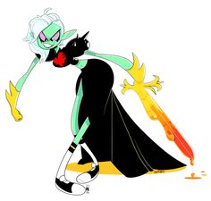 I really like her design…and how she's animated…also her character traits… might as well say the voice too. Wonder Over Yonder, Lord Dominator, Cartoon Games, Cartoon Art, Fairy Tail Manga, Cartoon Crossovers, Adventure Time Anime, Cool Animations, Disney Cartoons