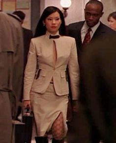 lucy liu in ally mcbeal