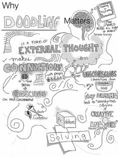 Why doodling matters...