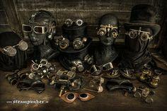 Steampunk Accessoires by steamworker.deviantart.com on @deviantART