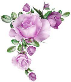 50 Ideas For Tattoo Rose Vintage Frames Decoupage Jars, Decoupage Paper, Arte Floral, Rose Tattoos, Flower Tattoos, Flower Frame, Flower Art, Diy Nail Decorations, Ornament Storage