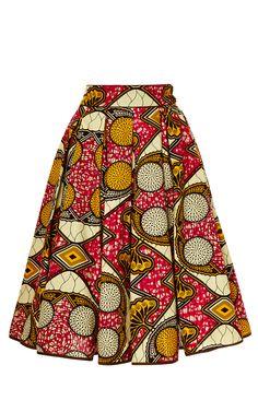 Burundi Market Skirt by Lena Hoschek for Preorder on Moda Operandi