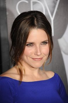 Sophia Bush with a piecey hairstyle.