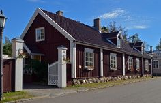 Wooden Houses, Scandinavian Home, Country Style, Exterior Design, Arcade, Cities, Buildings, Shed, Traveling