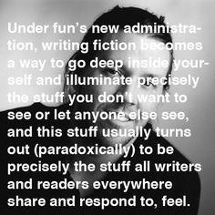 David Foster Wallace on fun in writing