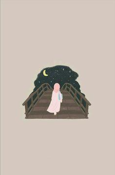 İslamic anime ve tesettür Hijab Anime, Anime Muslim, Quran Wallpaper, Mood Wallpaper, Cartoon Wallpaper Iphone, Cute Cartoon Wallpapers, Hijab Drawing, Instagram Emoji, Islamic Cartoon
