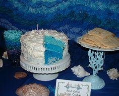 sea weed cake stand