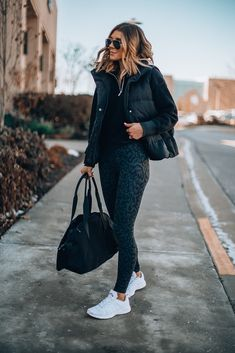 # Casual Outfits sporty scarfs 3 Tips for Prioritizing Self Care During the Holiday Season Mode Outfits, Sport Outfits, Casual Outfits, Fashion Outfits, Hiking Outfits, Casual Athletic Outfits, Fashion Ideas, Fashion Tips, Fashion Trends