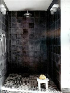#interior #decor #styling #industrial #bathroom #tiles