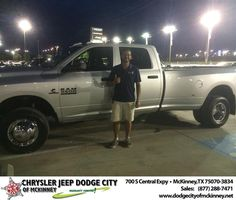 Great to have traded my truck in today. Brad my salesperson was great to work with and all the staff. I will definitely recommend this dealership to all friends and associates. No hassle, very friendly, and professional associates.  Leo Yruegas Tuesday, July 29, 2014