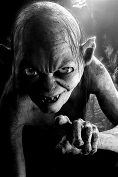 "Gollum / Sméagol - ""Lord Of The Rings"". °"