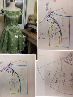 Diy Ropa Mujer Fashion Ideas Ideas For 2019 Sewing Art Sewing Tools Sewing Tutorials Sewing Hacks Sewing Patterns Sewing Projects Sewing Techniques Techniques Couture Learn To Sew Dress pattern cut out Great swing dress DIY - would add a curve to the bodi Dress Sewing Patterns, Blouse Patterns, Sewing Patterns Free, Clothing Patterns, Blouse Designs, Sewing Clothes, Diy Clothes, Costura Fashion, Bodice Pattern