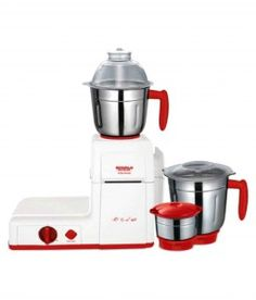 Maharaja Whiteline MG Turbo Boost 750 W 3 Jar Mixer Grinder