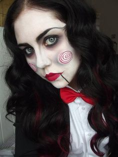 Хеллуин макияж костюмы