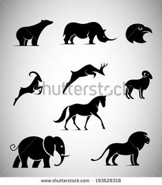 Find Animal Iconic Shapes stock images in HD and millions of other royalty-free stock photos, illustrations and vectors in the Shutterstock collection. Thousands of new, high-quality pictures added every day. Animal Robot, Rhino Logo, Earth Drawings, Cartoon Drawings Of Animals, Fabric Stamping, Animal Silhouette, Logo Concept, En Stock, Whimsical Art