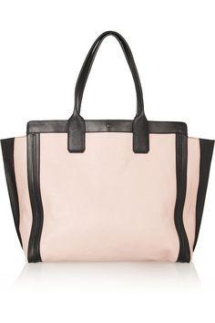 337fd8488274d8 Chloé Leather Shopper Trendy Handbags, Best Handbags, Handbags 2014,  Leather Pouch, Beautiful