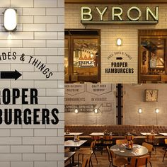trainspotters salvaged vintage industrial retro projects byron burgers milton keynes