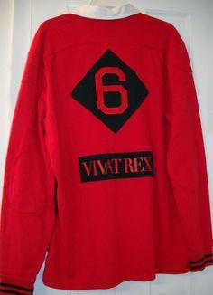 NEW  125 MENS NIKE  6 LEBRON JAMES MIAMI HEAT VIVAT REX RED BLACK Shirt~XL 3718a5439