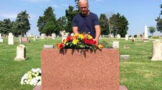 Ultimate Headstone Flower Package Grave Flowers, Memorial Flowers, Flower Packaging, Funeral, Bouquet, Table Decorations, Beautiful, Bouquet Of Flowers, Bouquets