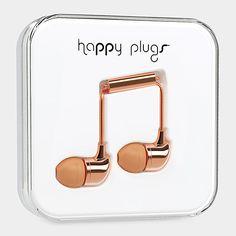 Happy In-Ear Earphones Metallic | MoMA