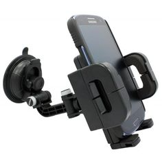 Universal Multiangle Rotating Car Mount Windshield Window Suction Phone Holder for Tracfone LG 840G  Motorola EX124G  Motorola EX431G  Samsung S390G * Click image for more details.Note:It is affiliate link to Amazon.