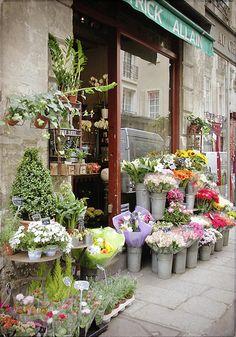 Florist, Paris