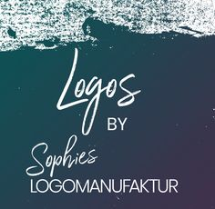 Logodesigns by Sophies Logomanufaktur. einzigartige Logos, Logodesignerin, Firmenlogo, Corporate Design, Logo Design, Corporate Design, Logos, Movies, Movie Posters, Company Logo, Film Poster, Films, Popcorn Posters