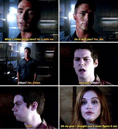 Teen Wolf Finale ok cool let's focus on the relationship none of us really cared to ship but not focus on any reaction at all or discussion of stiles and Lydia being together now in front of Jackson? That bothered me. Teen Wolf Quotes, Teen Wolf Funny, Teen Wolf Memes, Teen Wolf Boys, Teen Wolf Dylan, Teen Wolf Cast, Tv Quotes, Teen Wolf Stydia, Play Quotes