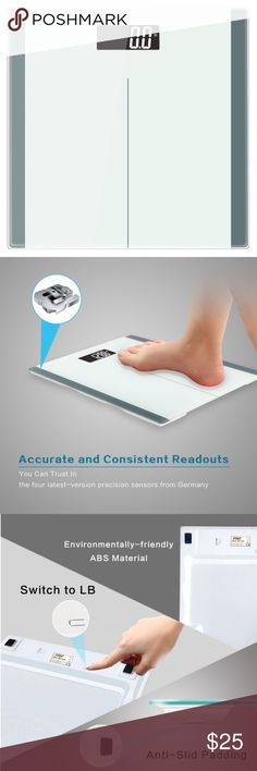 Fitness- Bodyweight Scale Digital Body Weight Bathroom Scale, High accuracy with Tempered Glass Platform, Smart Step-on Technology, Batteries Included (3 AAA). Capacity up to 400 lbs. Auto-on. Auto-off. Auto-calibrate. Dimensions: 11 x 11 x 0.8 inches ✅Great deal!✅ Save with bundle discounts I also offer customized bundles  Interested? Leave a comment below  ~~~~~~~~~~~~~~~~~~~~~~~~~~~~~~ Accessories