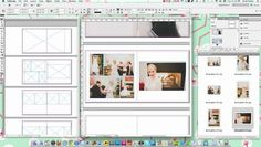 Using InDesign to Design Album Layouts by Heidi Ryder. Quick tips on using Adobe InDesign to design page layouts for client wedding albums.