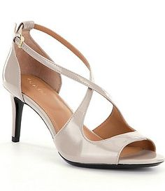 Calvin Klein Landria Peep-Toe Stiletto Pumps