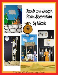 Bible Fun For Kids: Wall Decorating by Nicole: Jacob & Joseph