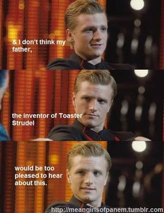 hahahaha inventer of the toaster strudle